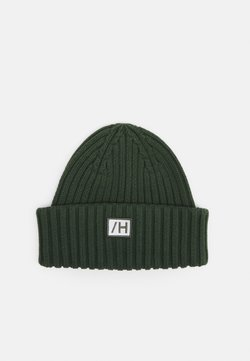 Selected Homme - SLHHENRIK BEANIE UNISEX - Berretto - sycamore