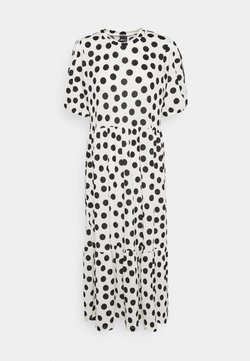 Gina Tricot - AMITA DRESS - Vestido largo - offwhite/black