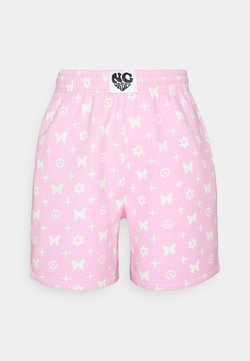 NEW girl ORDER - BUTTERFLY MONOGRAM  - Shorts - pink