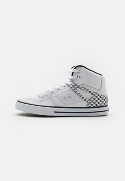 DC Shoes - PURE - Sneakers alte - white/black