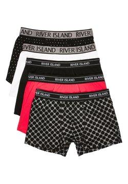 River Island - 5 PACK - Shorty - black