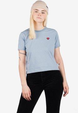 Element - T-Shirt print - faded denim