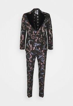 Twisted Tailor - WOOLATON SUIT - Costume - black
