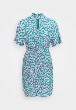Closet - CLOSET KIMONO WRAP PENCIL DRESS - Cocktailkleid/festliches Kleid - pink