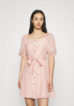 NA-KD - PUFF SLEVE TAILORED DRESS - Cocktailkleid/festliches Kleid - pink