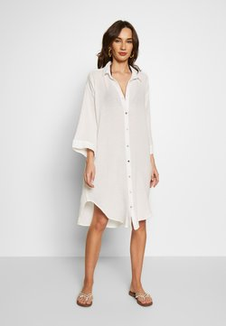 Seafolly - BEACH EDIT OVERSIZE BEACH COVER UP - Beach accessory - off white