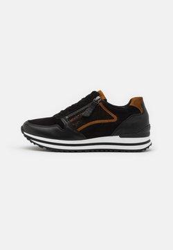 Gabor Comfort - Sneakers laag - schwarz/bronce/camel