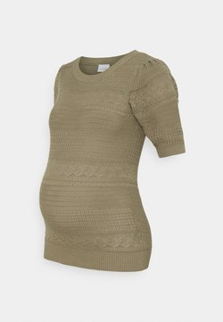 MAMALICIOUS - MLNAIME - T-shirt con stampa - aloe