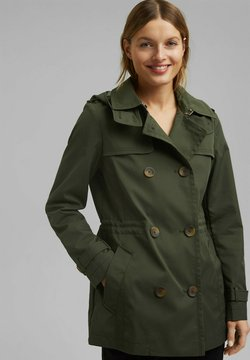 Esprit - Trenchcoat - khaki green