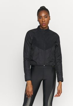 Nike Performance - RUN MID - Veste polaire - black/gold