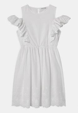 Name it - NKFFANNE SPENCER - Freizeitkleid - bright white