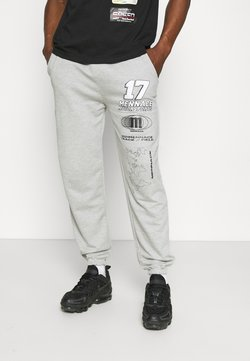 Mennace - UNISEX LOGO REGULAR - Jogginghose - light grey