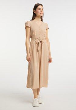 usha - Blusenkleid - beige