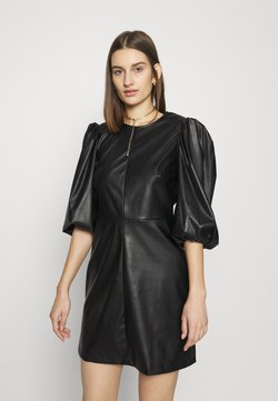Closet - CLOSET PUFF SLEEVE MINI DRESS - Robe d'été - black