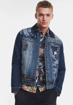 Desigual - CHAQ  ADAM - Veste en jean - blue