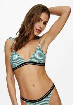 ONLY - Bikini-Top - dusty turquoise