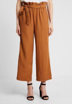 Cream - GAYA CULOTTE PANTS - Bukser - bronzed