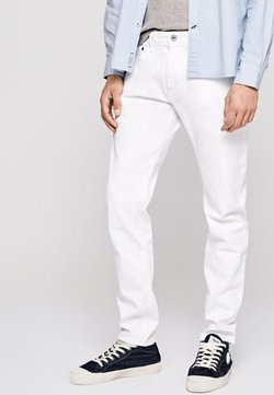 Pepe Jeans - STANLEY - Slim fit jeans - white