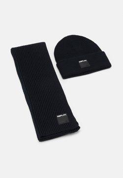 Replay - HAT SCARF SET - Schal - dark blue
