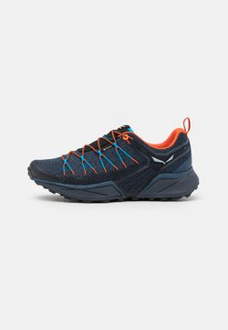Salewa - MS DROPLINE GTX - Hiking shoes - dark denim/black