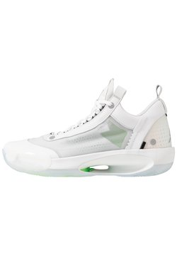 Jordan - AIR XXXIV LOW - Chaussures de basket - white/metallic silver/pure platinum/electric green