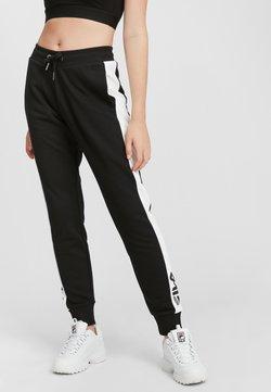 Fila - FREYA  - Jogginghose - black-bright white