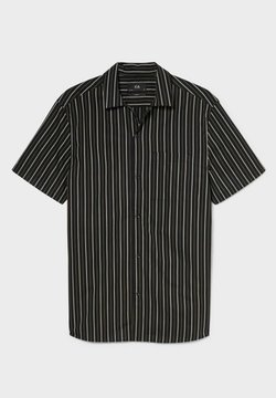 C&A - Hemd - black / white