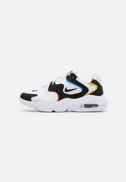 Nike Sportswear - AIR MAX 2X - Sneakers - white/black/university red/university gold/university blue