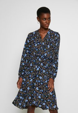 YAS Tall - YASTHISTLE  DRESS  - Sukienka letnia - navy blazer/thistle aop