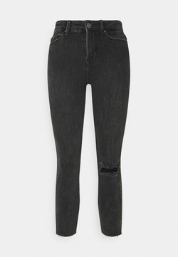 Pieces Petite - PCLILI - Jeans Skinny Fit - black denim