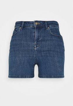 ONLY Petite - ONLPOWER LIFE MID - Shorts vaqueros - light blue denim