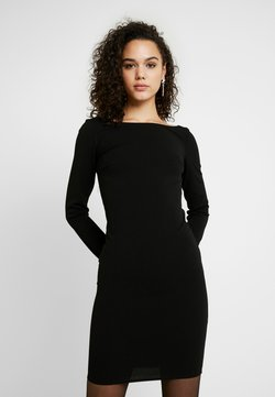 Nly by Nelly - LOW V BAR BACK DRESS - Cocktail dress / Party dress - black