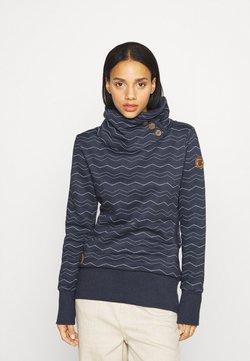 Ragwear - CHEVRON - Sweatshirt - navy