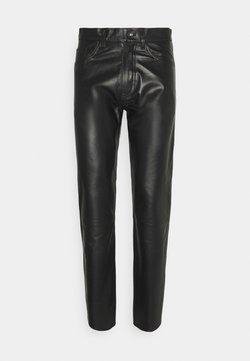 Tiger of Sweden Jeans - KEITH - Pantaloni di pelle - black