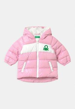 Benetton - Winterjas - light pink