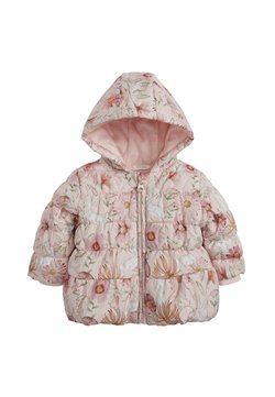 Next - FLORAL CHARACTER PRINT HOODED - Doudoune - pink
