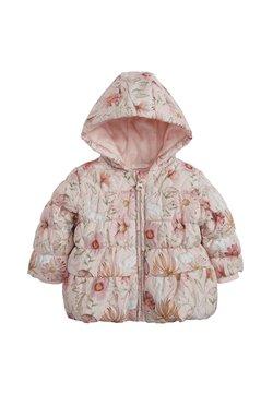 Next - FLORAL CHARACTER PRINT HOODED - Gewatteerde jas - pink