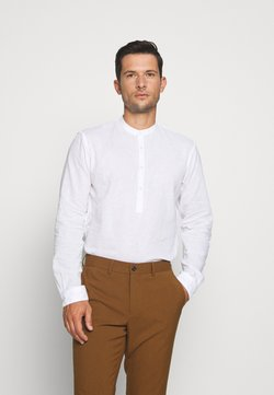 TOM TAILOR DENIM - MIX TUNIC - Camicia - white