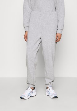 Noisy May - NMTARA PANT - Jogginghose - light grey melange