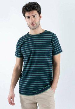 Armor lux - HOËDIC MARINIÈRE - T-Shirt print - navire/billard