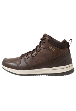 Skechers - DELSON - Sneaker high - chocolate