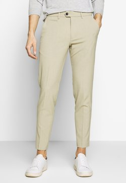 Lindbergh - CLUB PANTS - Spodnie materiałowe - sand