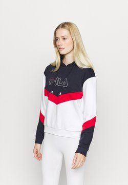 Fila - LACEY - Sweat à capuche - bright white
