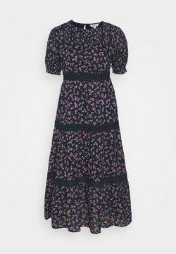 Marks & Spencer London - TIER DITSY DRESS - Freizeitkleid - dark blue
