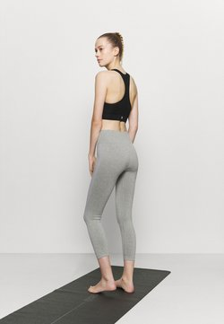 NU-IN - HIGH WAIST CONTRAST SEAMLESS - Medias - grey