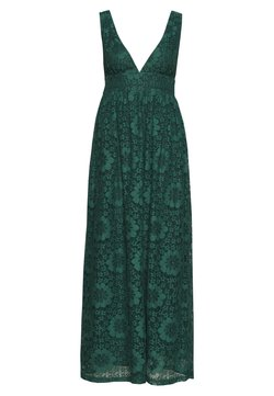 YAS - YASCHESHIRE MAXI DRESS - Gallakjole - evergreen