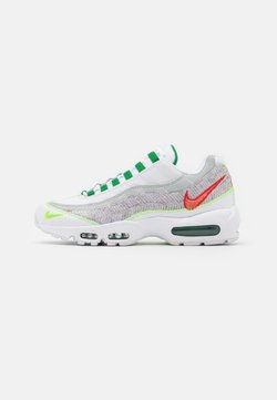 Nike Sportswear - AIR MAX 95 UNISEX - Sneaker low - white/classic green/electric green