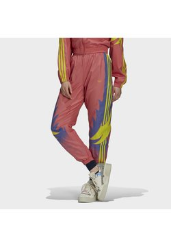 adidas Originals - Jogginghose - hazy rose joy purple acid yellow