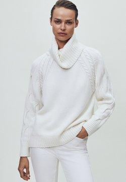 Massimo Dutti - Sweter - beige