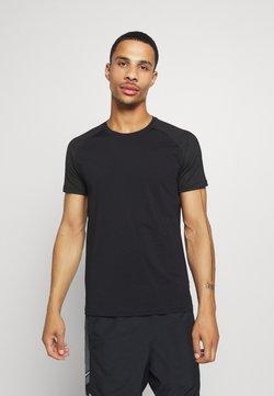 Casall - STRUCTURED TEE - Camiseta básica - black